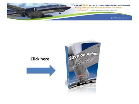 discount airfare websites