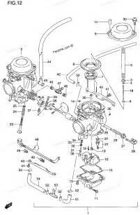 Suzuki Carburetor Diagram Partzilla Oem Powersports Parts From Honda Kawasaki