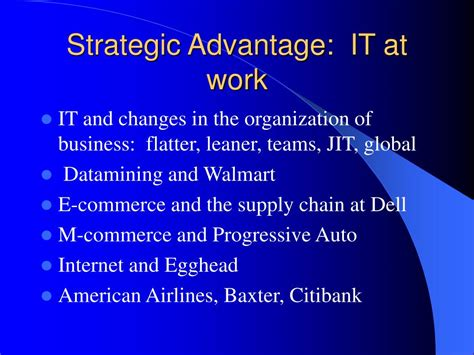 Advantage Of Ms Mba by Ppt It Impact Positive And Negative Graduate Programs