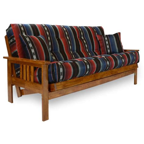 Futon Attitude by Stanford Wood Futon Frame Heritage Finish Dcg Stores