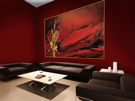 agréable Deco Chambre Jeune Homme #4: deco-murs-rouge-fonce.jpg