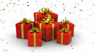 surprise for you animated background with gift boxes