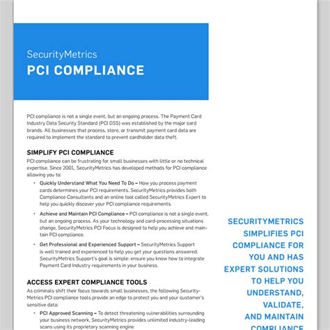pci dss security policy template pci compliance for small businesses testing and