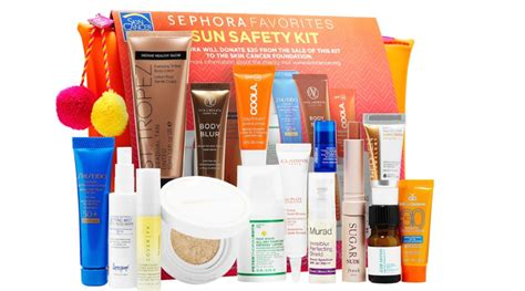 Sephoras Sun Safety Kit Product by Sephora Sun Safety Kit Only 32 132 Value