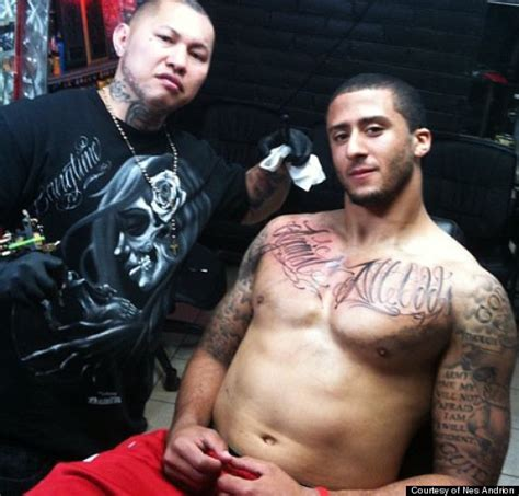 colin kaepernick tattoos http i huffpost 879139 thumbs o colin kaepernick