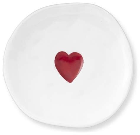 valentines day plates valentine s day plates set of 4 contemporary dinner