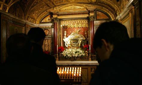 sacra culla tutte le reliquie della vita di cristo il mio papa