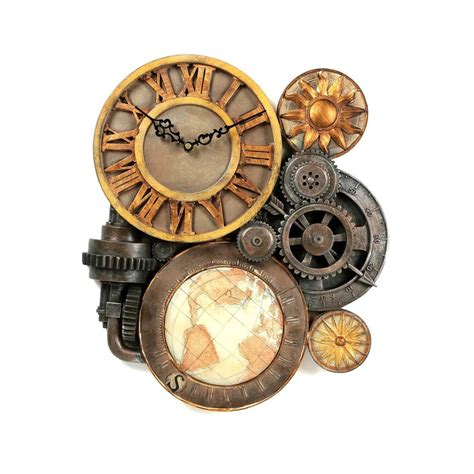 art wall clock wall clock art large gear clock unique decor modern