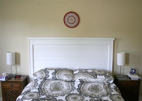 white headboard ideas shabby chic rustic white hedboard with brown touch in grey