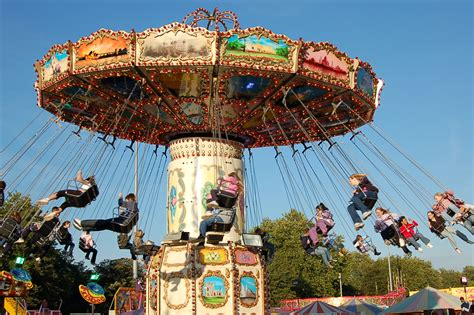 swing ride at fair wave swinger fairground ride hire and corporate funfairs