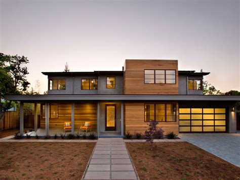 contemporary home exterior modern cedar horizontal wood siding home with dark