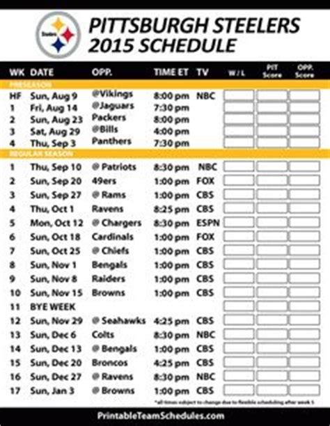 printable nfl preseason schedule 2015 16 nfl football schedule 2016 on pinterest football nfl