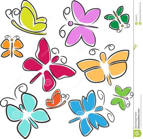 imagenes de mariposas abstractas mariposas abstractas fotos de archivo imagen 23496973