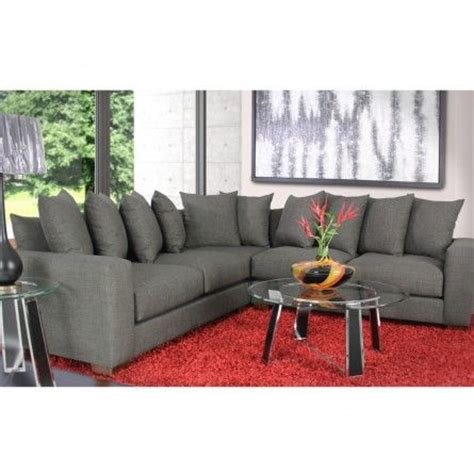 custom sofa houston gallery furniture custom contemporary charcoal grey