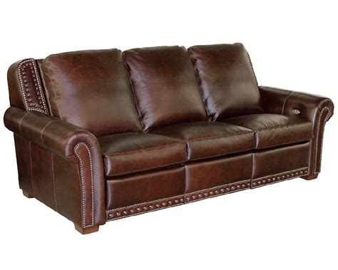 classic leather mcintyre power reclining sofa 11543
