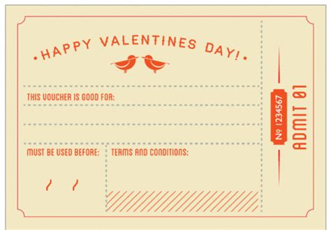 valentines coupon free valentines day coupon book we it diy