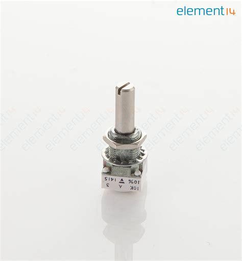 vishay linear resistor p11s1v0flsy00103ka vishay rotary potentiometer cermet 10 kohm 1 w 177 10 p11s series 1