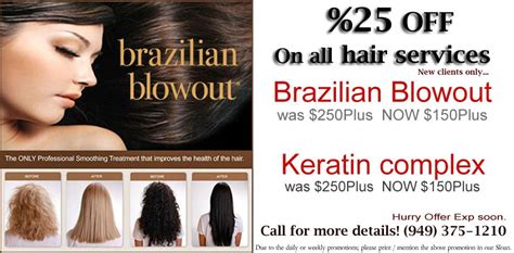 promotion color brazilian blowout irvine 92604 keratin complex promotion