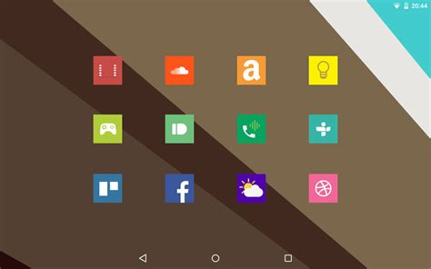 square android square icon pack free android playストアで手に入る無料アイコンパック一覧 naver まとめ