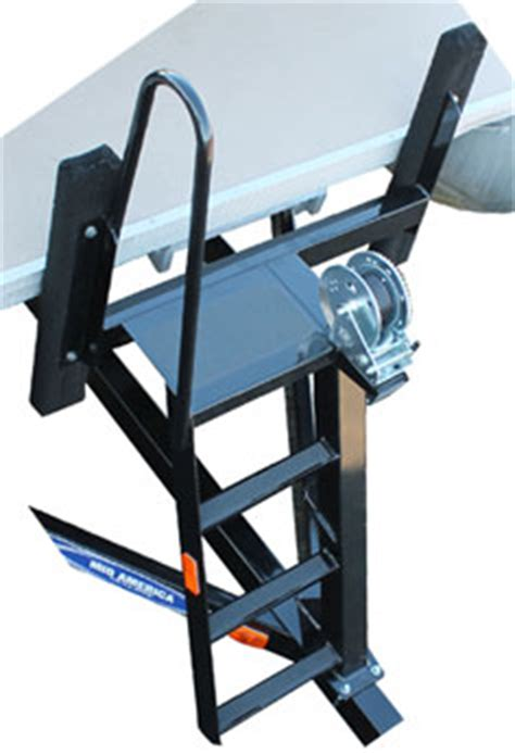 pontoon boat trailer winch stand with steps pontoon trailer parts store
