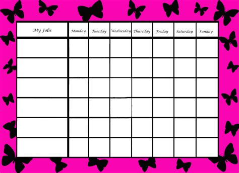 free printable weekly reward charts chore chart parenting pinterest free printable chore