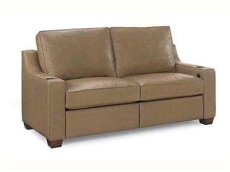 sofas short seat 917 00 75rec reclining short sofa leathercraft furniture