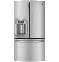 Ge profile series 28 6 cu ft french door refrigerator