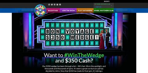 wheel of fortune winthewedge promotion bring home 350