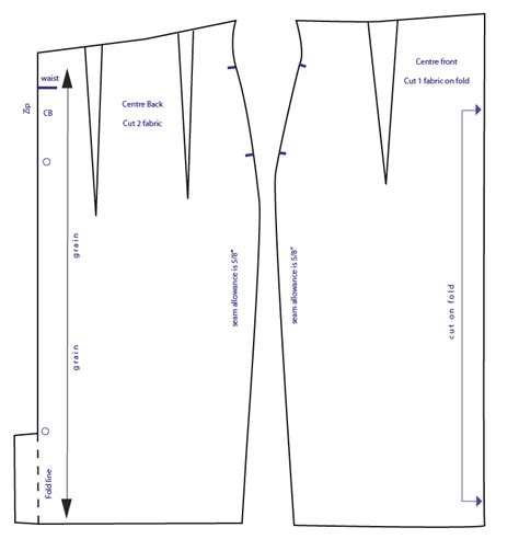 pattern drafting skirt high waisted pencil skirt pattern how to draft from