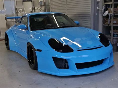 porsche 996 rwb 996 porsche 911 widebody what if rwb started building