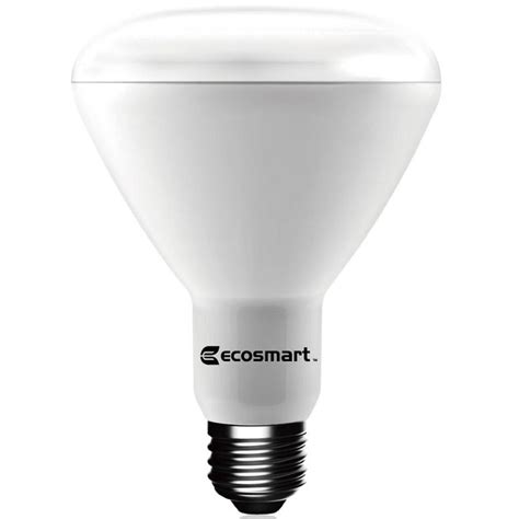 Led Light Bulbs Daylight Ecosmart 65w Equivalent Daylight Br30 Dimmable Led Light Bulb 6 Pack 1003015403 The Home Depot
