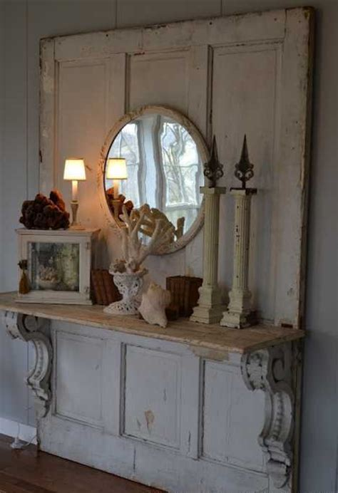Decorating With Antique Doors by 30 Modern Wall Decor Ideas Recycling Wood Doors For