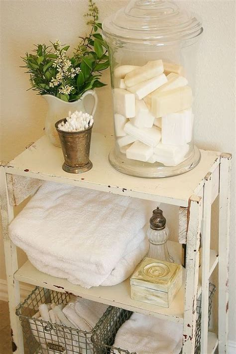 26 Adorable Shabby Chic Bathroom D 233 Cor Ideas Shelterness Shabby Chic Bathroom Shelves