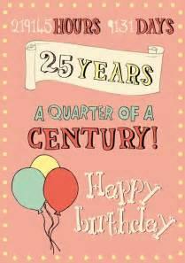 1000 id 233 es sur le th 232 me joyeux 25 232 me anniversaire de naissance sur pinterest 25e anniversaire