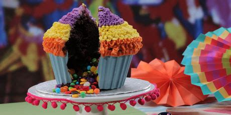 Greasing The Pinata the pinata cupcake recipes food network canada
