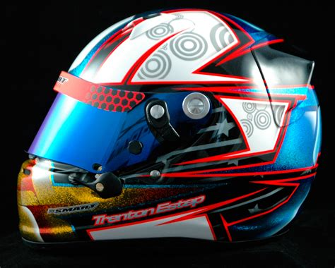 helm experience design trenton estep s second arai sk 6 for 2014 smart race