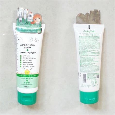 Minyak Oles Khusus Jerawat Wayang Serum Jerawat Wayan Diskon cathy doll acne solution serum foam cleanser deals for only rp56 900 instead of rp135 000
