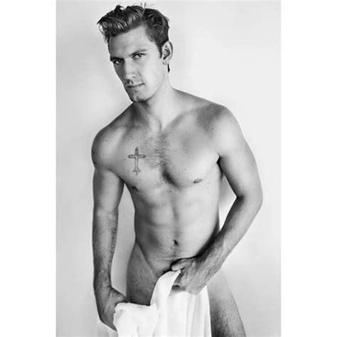 Alex Pettyfer Naked For Mario Testino Towel Series The Fashionisto
