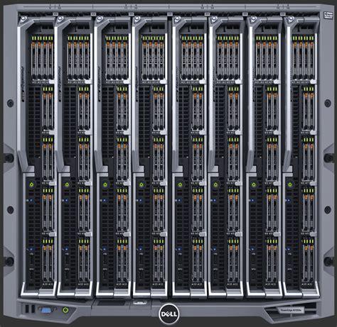 Storage Organization by Dell Server Virtual Rack Poweredge M1000e Chassis