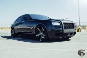 Rolls Royce Ghost Wheels Go Big With Dub Wheels On A Rolls Royce Ghost Wheelhero