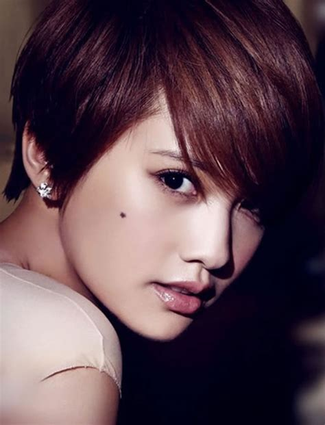 hair color for summer for asians 50 glorious short hairstyles for asian women for summer