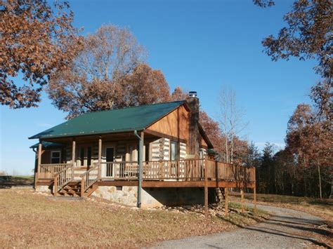 Pilot Mountain Cabins by Handmade Log Cabin On 75 Wooded Acres Vrbo