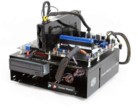 pc test bench case 嗜好のための道具 cooler master lab test bench v1 0 review