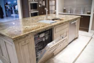 kitchen island with sink and diswasher kitchen design photos