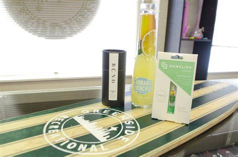 Detox Herbal Tea Green Side by Seattle Staycation Greenside Recreational