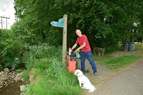 spray painter vacancies scotland comrie residents are using pink spray paint to highlight