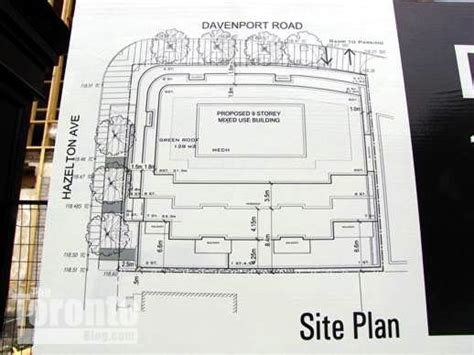 residences c luxury condos for sale site plan floor 133 hazelton residences condo development proposed site