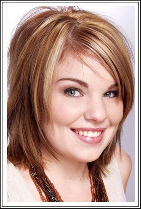 hairstyles for fat faces and double chins pictures with bangs hairstyles for with faces and chins hairstyles fat faces