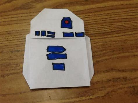 R2d2 Origami - my r2 d2 origami yoda