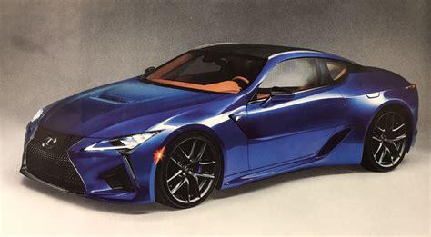 lexus es f lexus lc f rendering automobile magazine